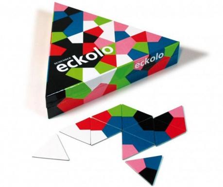 Joc tip puzzle 76 piese Eckolo