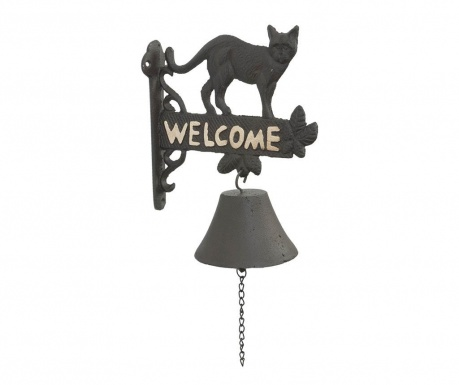 Clopotel de intrare Welcome Cat
