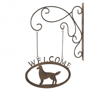 Decoratiune de perete Welcome