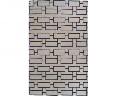 Kilim Bricks Beige Szőnyeg 152x244 cm