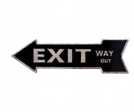 Decoratiune de perete Exit Way