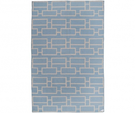 Covor Kilim Bricks Blue 152x244 cm