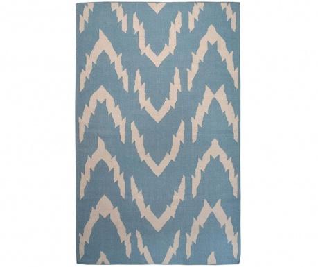 Kilim Waves Blue Szőnyeg 152x244 cm