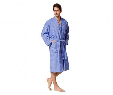 Мъжки халат за баня Uspa Blue S/M