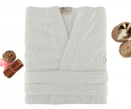 Дамски халат за баня Uspa White