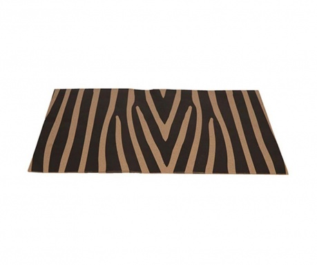 Zebra 50 db Egyszer használatos tányéralátét 33x48 cm