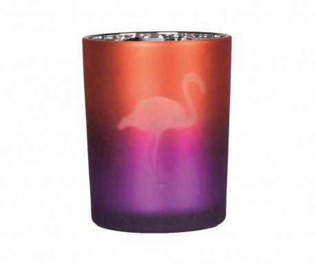 Flamingo Gyertyatartó