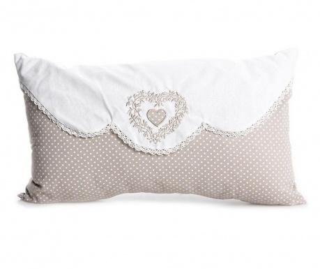 Perna decorativa Roselle Heart 30x50 cm