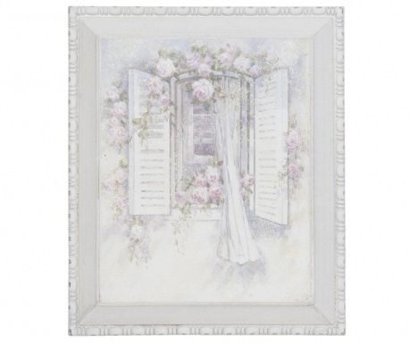 Tablou Romantic Window 27x32 cm