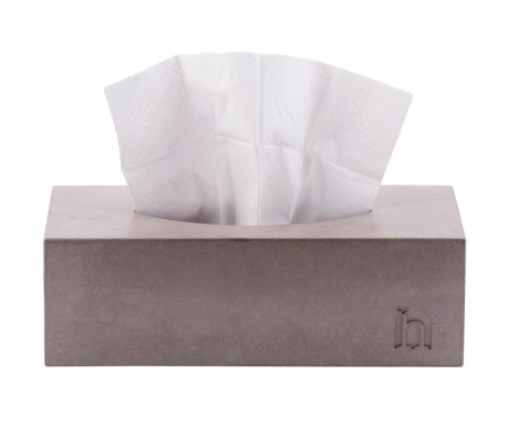 Škatla za robčke Cubic Concrete