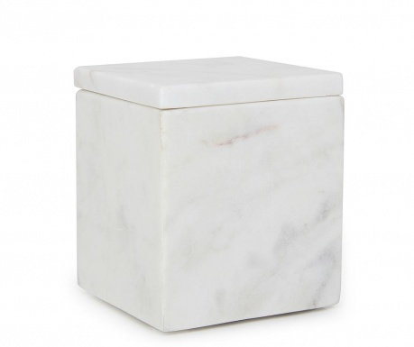 Krabica s vekom Cubic White