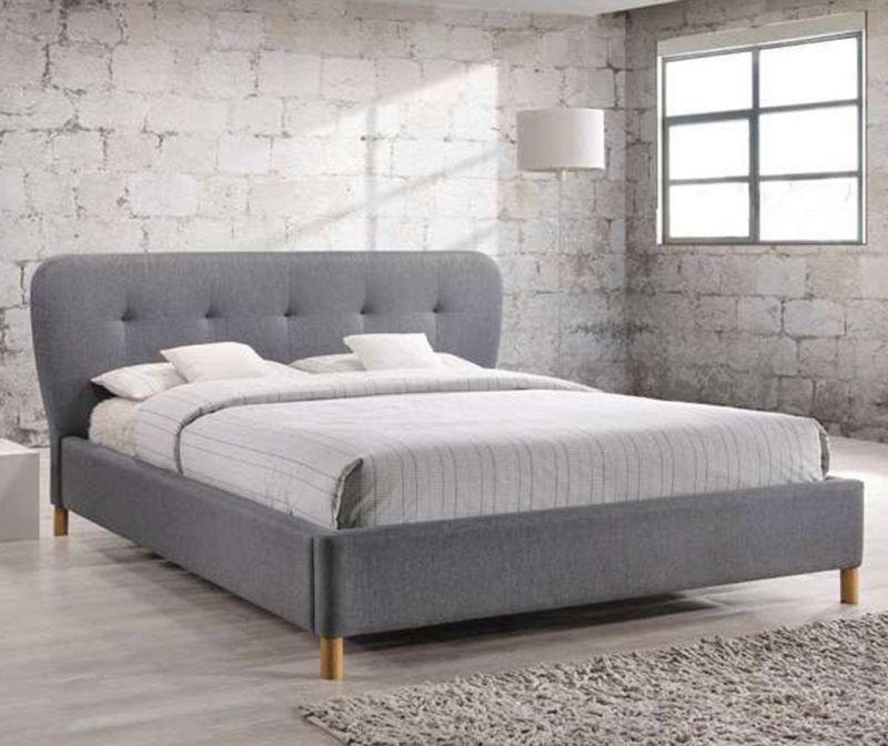 Krevet Damaris Grey 160x200 cm