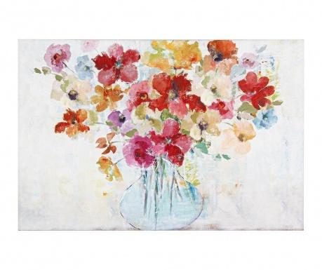 Wild Flower Vase Festmény 60x90 cm