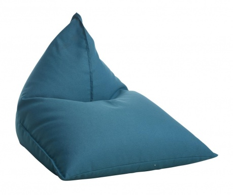 Puf Triangle  Turquoise