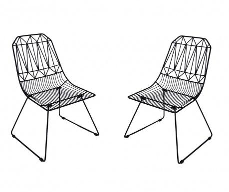 Sada 2 venkovních židlí Poltron