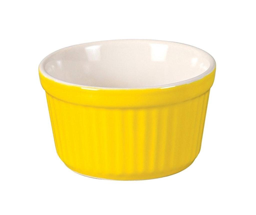 Ramekin Yellow Sütőforma