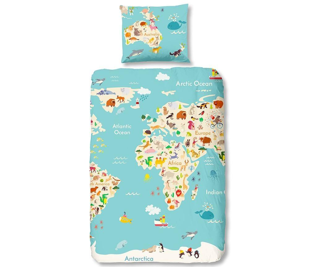 Спален комплект Single Ranforce World Map