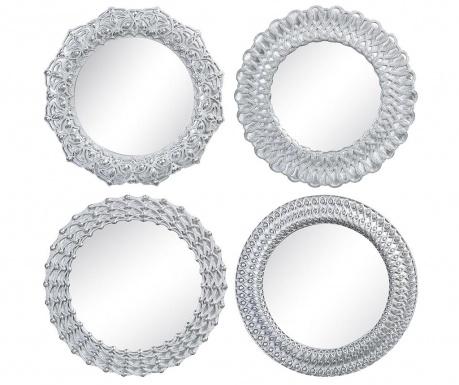Set 4 zrcala Presentacion Silver