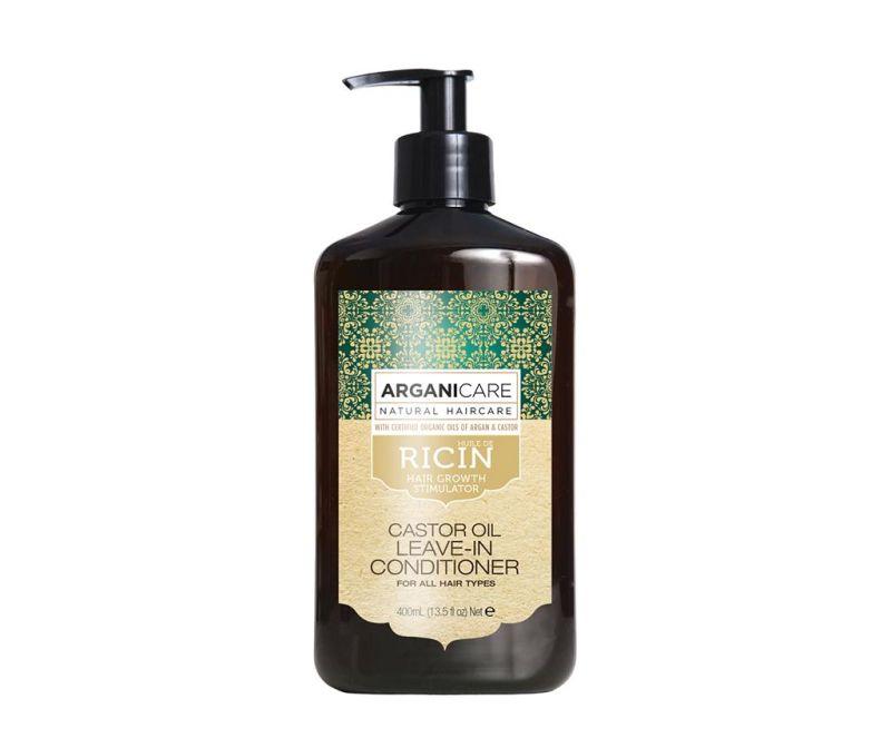 Balsam fara clatire impotriva caderii parului Castor Oil 400 ml