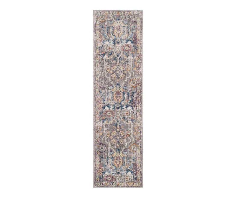 Covor Adalicia Grey and Blue 62x240 cm