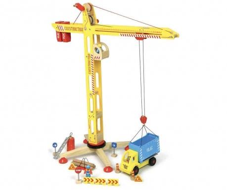 Hračka jeřáb Construction