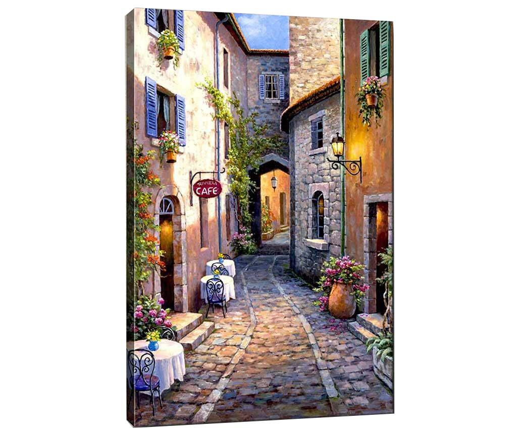 Tablou Cafe 40x60 cm - Tablo Center, Multicolor