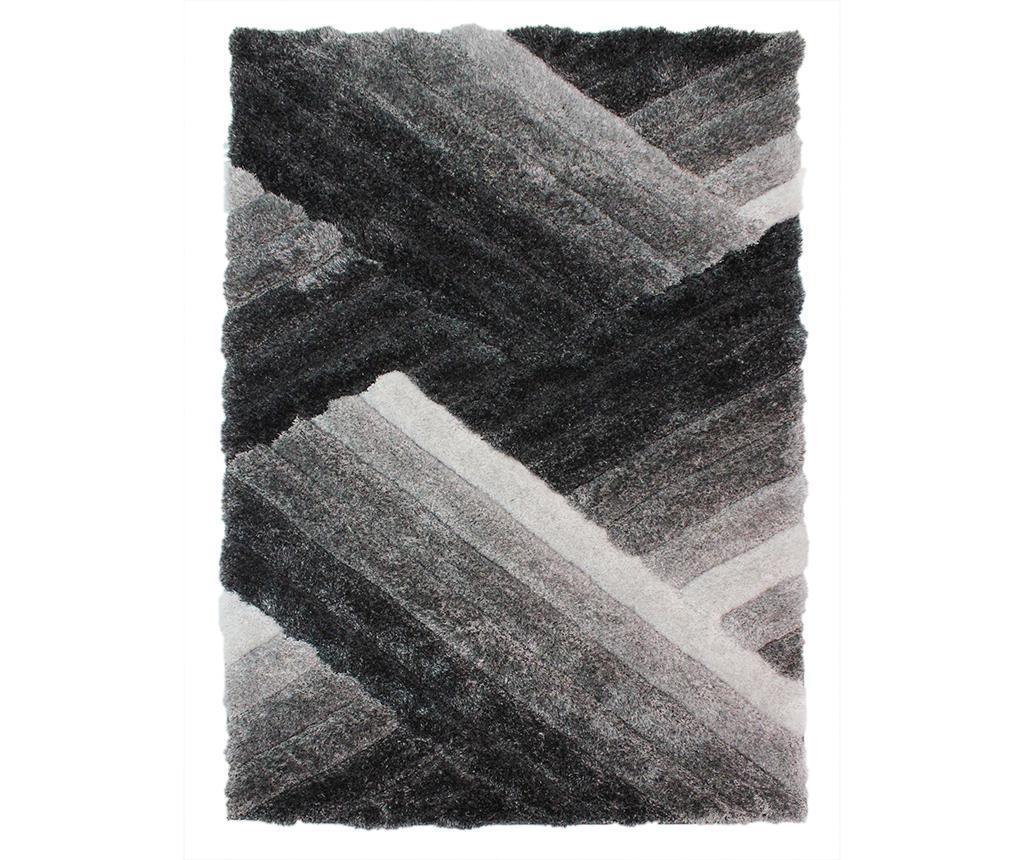 Covor Lattice Grey And Silver 120x170cm - Flair Rugs, Gri & Argintiu