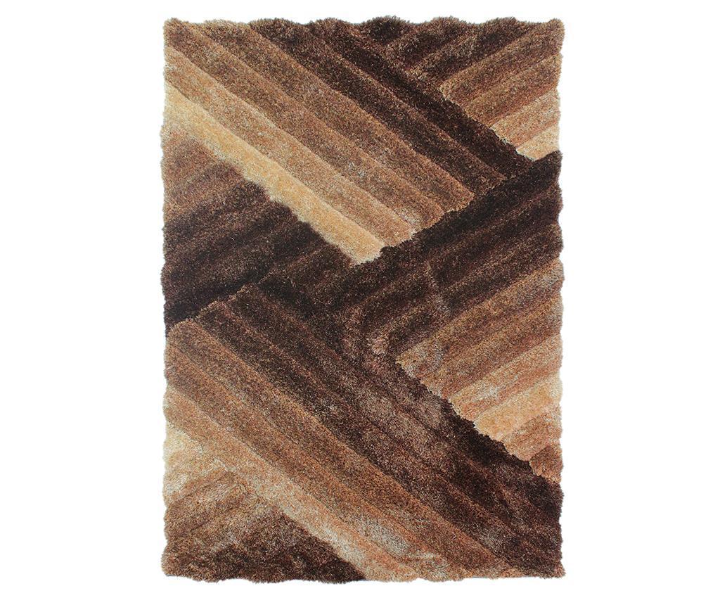 Covor Lattice Brown Bronze