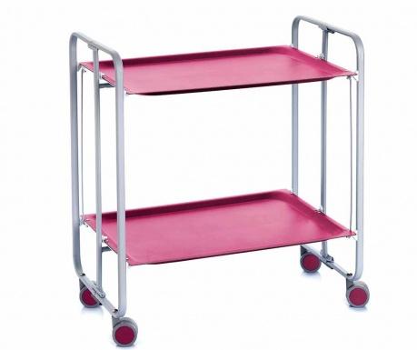 Sklopiva kolica za posluživanje Matte Lilac