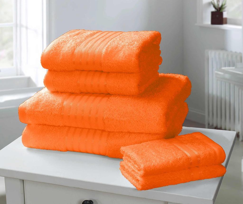 Set 6 prosoape de baie Windsor Orange
