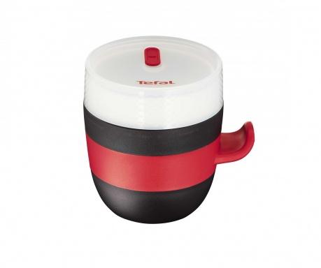 Šalica za mikrovalnu pećnicu s poklopcem Tefal Quick
