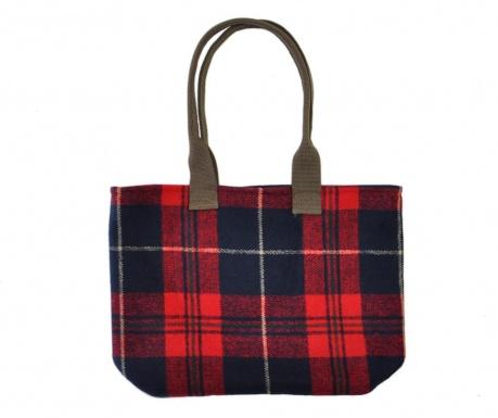 Чанта за покупки Tartan