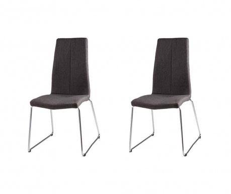 Комплект 2 стола Aroa Dark Grey