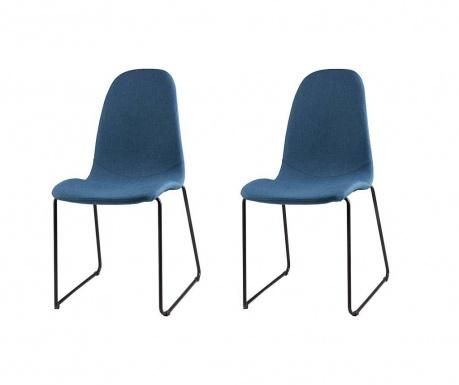 Set 2 scaune Helena Dark Blue