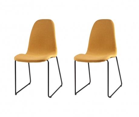 Комплект 2 стола Helena Yellow