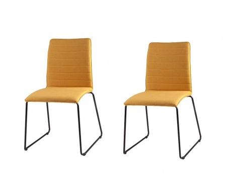 Set 2 scaune Vera Yellow