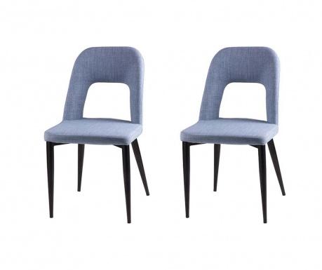 Set 2 scaune Anika Light Blue