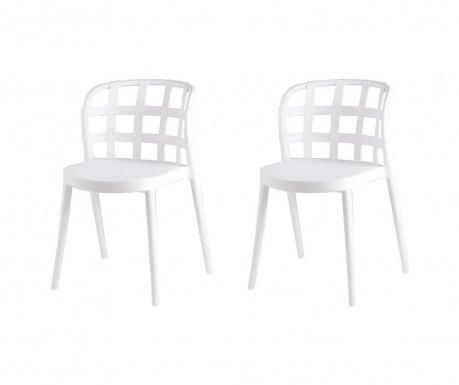Комплект 2 стола Ginnie White
