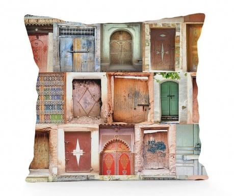 Ukrasni jastuk Brown Doors 45x45 cm