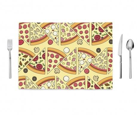 Tasty Pizza Tányéralátét 35x50 cm