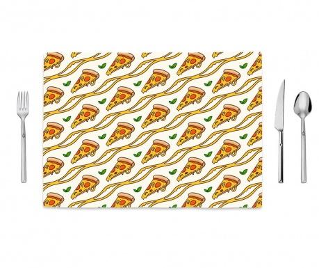 Slices of Pizza Tányéralátét 35x50 cm