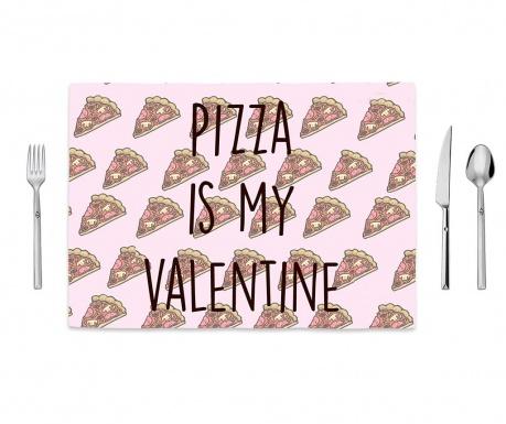 Individual Pizza Love 35x50 cm