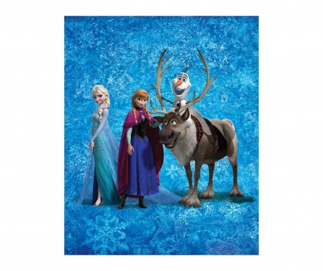 Pokrivač Disney Frozen Team 130x160 cm