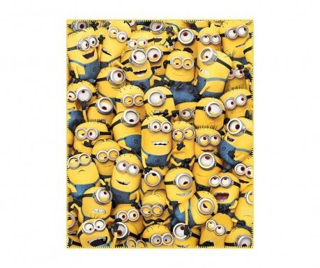 Minions Family Pléd 130x160 cm