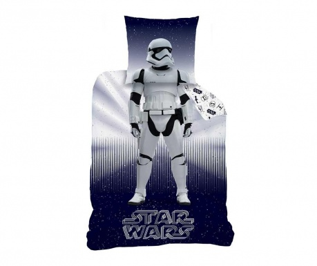 Set de pat Single Ranforce Star Wars Storm Trooper