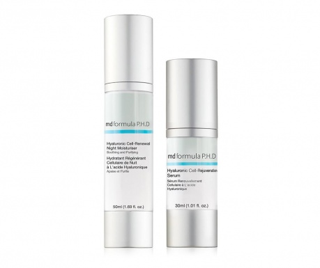 Комплект серум и нощен крем за лице Hyaluronic Cell-Rejuvenation