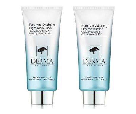 Set 2 kreme za lice - dnevna i noćna Purifying Anti-Oxidising