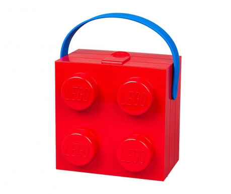 Kutija za užinu Lego Handle Red