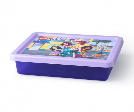 Kutija za pohranu s poklopcem Lego Friends 6.2 L