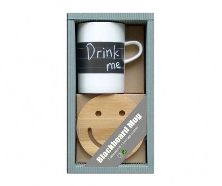Комплект чаша и подложка Chalkie